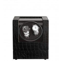 Luxe watchwinder in Kroko...